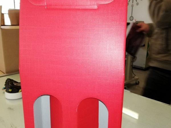 embalagens para garrafas de vinho