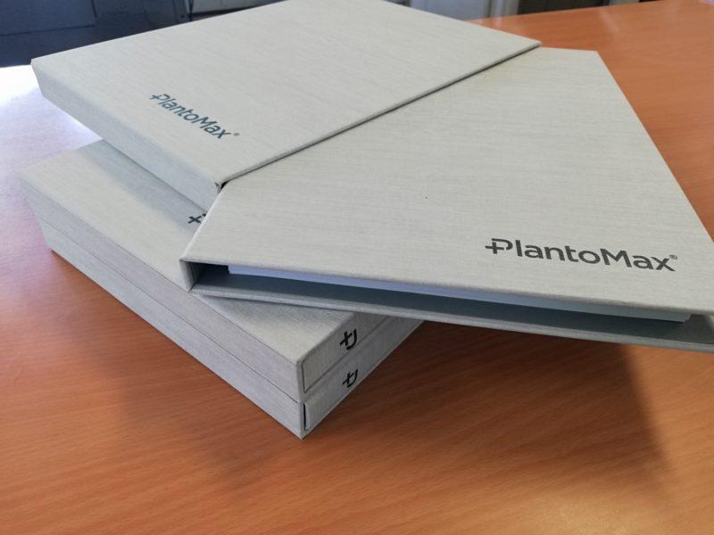 Dossiers com caixas personalizados