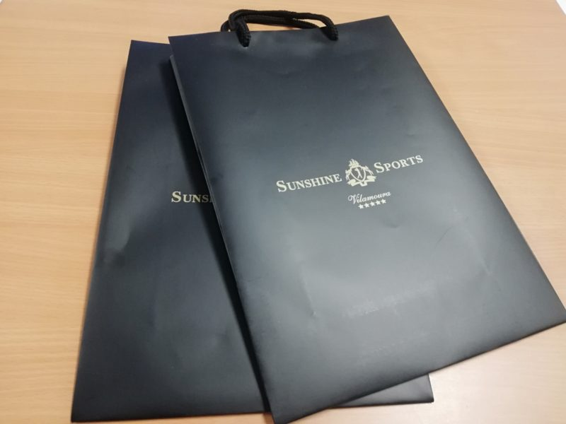Sacos de papel personalizados